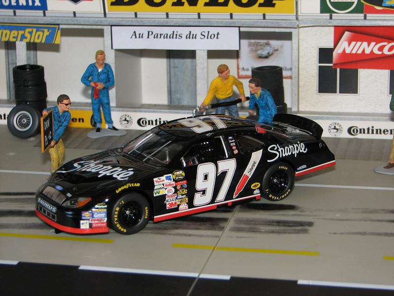 SUPERSLOT H2595 FORD TAURUS ROUSH RACING KURT BUSCH #97