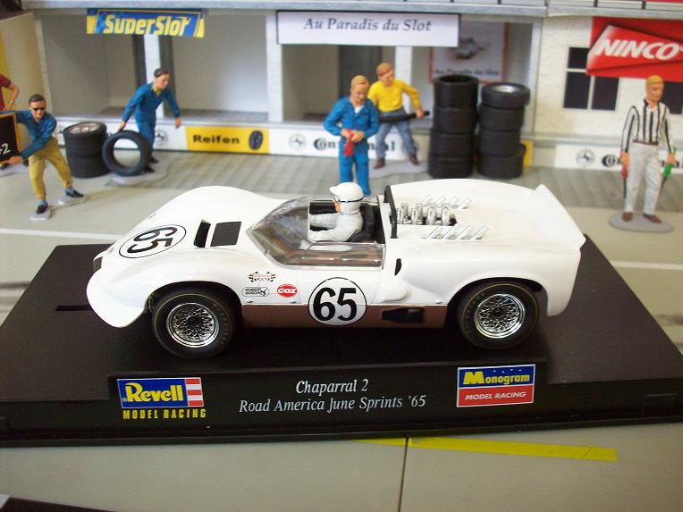 CHAPARRAL 2 #65 ROAD AMERICA JUNE SPRINGS 1965