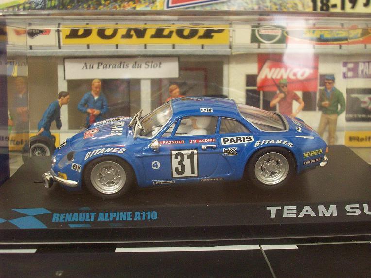 Team slot alpine a110