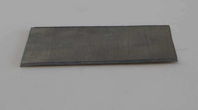 Nsr 4830 plaque de plomb autocollante epaisseur 1 5 mm for Plaque autocollante