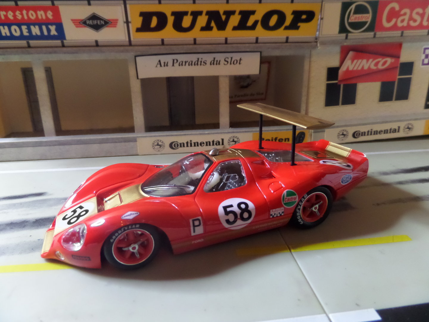 FORD P68 #58